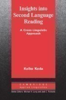 Insights into Second Language Reading A Cross-Linguistic Approach