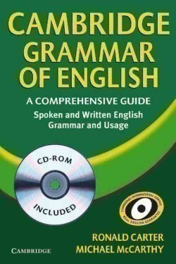 Cambridge Grammar of English With Cd-rom A Comprehensive Guide
