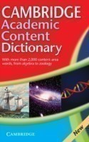 Cambridge Academic Content Dictionary