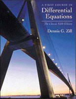 A First Course in Differential Equations The Classic Fifth Edition
