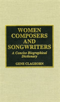 Women Composers and Songwriters