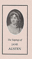 The Sayings of Jane Austen