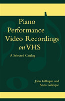 Piano Performance Video Recordings on VHS