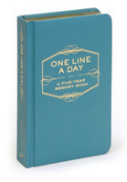One Line a Day A Five-Year Memory Book A Five-Year Memory Book