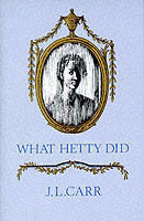 What Hetty Did Life and Letters