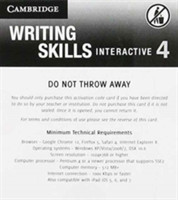 Grammar and Beyond Level 4 Writing Skills Interactive (Standalone for Students) via Activation Code Card