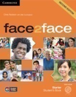Face2face Second Edition Starter Student's Book + Audio CD/CD-ROM