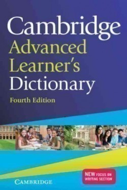Cambridge Advanced Learner's Dictionary Fourth Ed. Hardback + Cd-rom