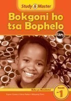 Study and Master Life Skills Grade 1 Caps Workbook Sesotho Translation