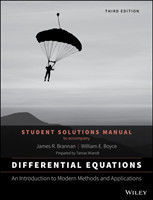 Differential Equations An Introduction to Modern Methods and Applications 3E Student Solutions Manual