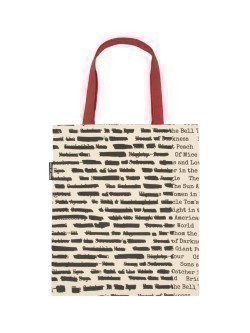 Taška Banned Books tote bag