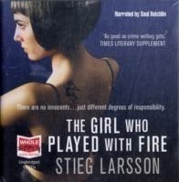 The The Girl who Played with Fire (Audio CD)