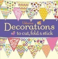 DECORATIONS TO CUT, FOLD & STICK
