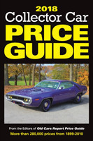 2018 Collector Car Price Guide From the Editors of Old Cars Report Price Guide