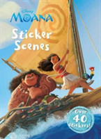 Disney Moana Sticker Scenes Over 40 Stickers!
