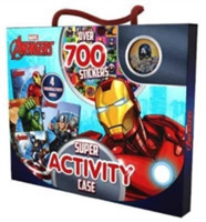 Marvel Avengers Super Activity Case Over 700 Stickers