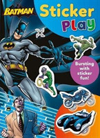 Batman Sticker Play Bursting with Sticker Fun!