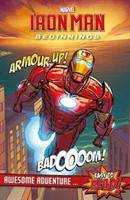 Marvel Iron Man Beginnings Awesome Adventure ...  Easy to Read!