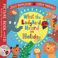 What the Ladybird Heard on Holiday Book and CD Pack