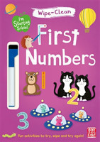 Pat-a-Cake - First Numbers Wipe-clean book with pen