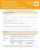 Home and Community Social Behavior Scales (HCSBS-2)