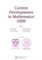 Current Developments in Mathematics 2008