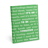 Knock Knock It's OK to Be Sensitive Journal