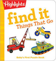 Find it Things that Go Baby's First Puzzle Book