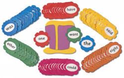 Wernham, Sara - Jolly Phonics Tricky Word Wall Flowers in Precursive Letters