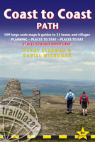 Coast to Coast Path  (Trailblazer British Walking Guide) 109 Large-Scale Walking Maps & Guides to 33 Towns & Villages - Planning, Places to Stay, Places to Eat - St Bees to Robin Hood's Bay  (Trailblazer British Walking Guide)