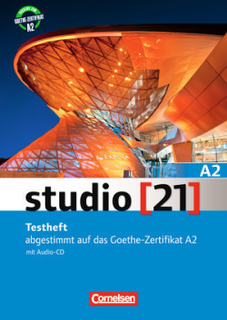 Studio 21 A2 Testheft mit Audio-CD