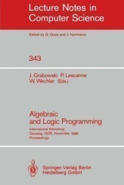 Algebraic and Logic Programming