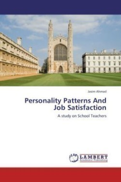 Personality Patterns And Job Satisfaction