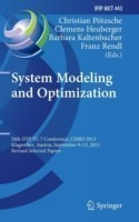 System Modeling and Optimization 26th IFIP TC 7 Conference, CSMO 2013, Klagenfurt, Austria, September 9-13, 2013, Revised Selected Papers