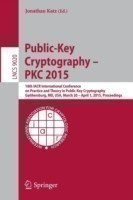 Public-Key Cryptography -- PKC 2015