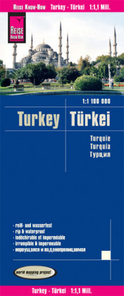 World Mapping Project Reise Know-How Landkarte Türkei (1:1.100.000)