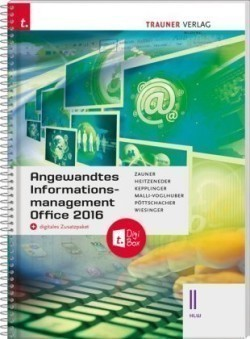 Angewandtes Informationsmanagement II HLW Office 2016 + digitales Zusatzpaket