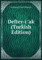 Defter-i 'ak (Turkish Edition)