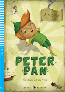 Young Eli Readers Stage 3 (cef A1.1): Peter Pan with Audio CD
