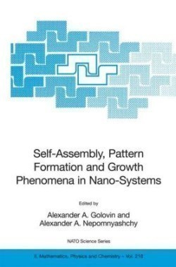 Self-Assembly, Pattern Formation and Growth Phenomena in Nano-Systems Proceedings of the NATO Advanced Study Institute, held in St. Etienne de Tinee, France, August 28 - September 11, 2004